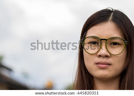 49da18d37b89 teenage glasses portrait confident blond teenage boy wearing stock photo  143873872