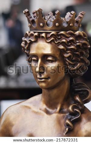 The goddess of love in Greek mythology, Aphrodite (Venus in Roman mythology).  - stock photo