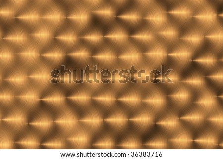 The gold brilliant threw from rings for background