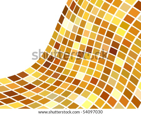 the golden abstract background (vector version in portfolio)