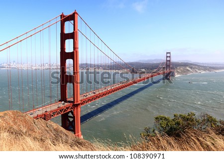 The Golden Gate Bridge , San Francisco - stock photo