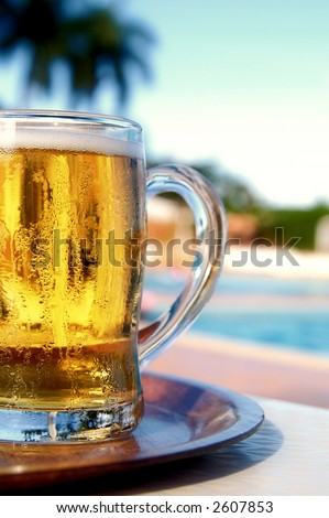 The good life. - stock photo