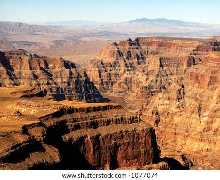 The Grand Canyon - stock photo