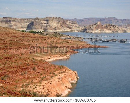 The grand canyons and endless width in Arizona Vastness         Western places and canyons in Amerika