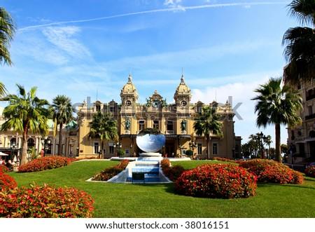 The Grand Casino Monte Carlo Monaco - stock photo