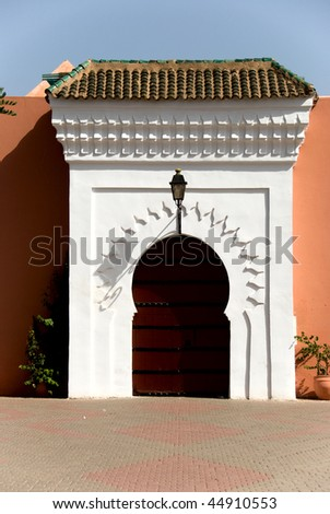 The Grand Mosque, Casablanka, Morocco - stock photo