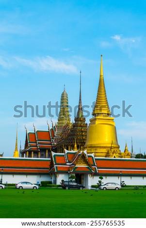 The grand palace at Thailand - stock photo