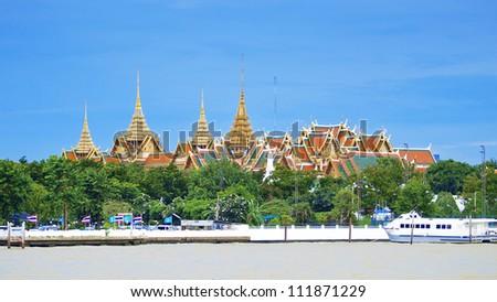 The Grand Palace ,Bangkok Thailand - stock photo