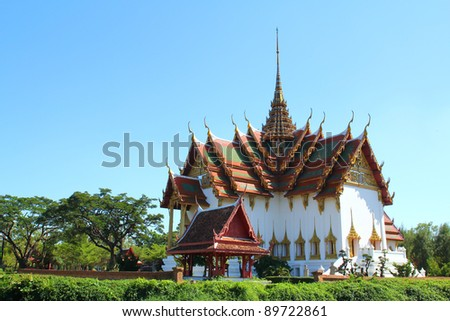 The grand palace,Thailand - stock photo