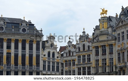 The Grand Place, Brussels - stock photo