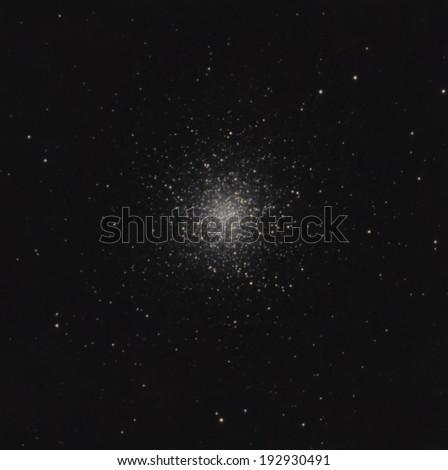 The Great Hercules Globular Cluster - stock photo