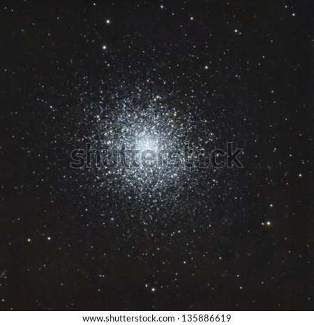 The Great Hercules Star Cluster - stock photo