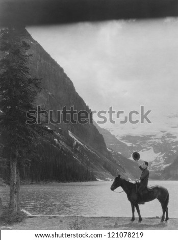 The great outdoors - stock photo