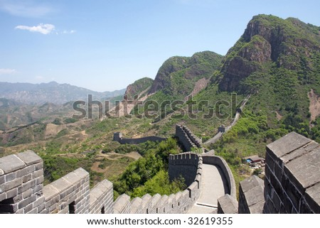 The Great Wall at Huanyaguan, Hebei province, China