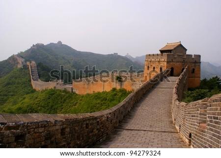 The great wall, China - stock photo