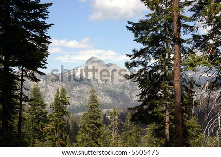 The Great Western Divide - stock photo