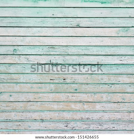 The green wood texture with natural patterns background - stock photo