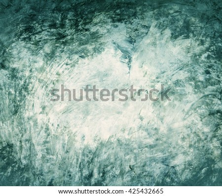 the Grungy dirt cement wall textured background , retro color tone - stock photo