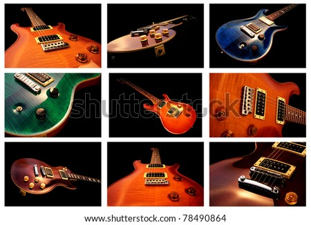 The Guitars - stock photo