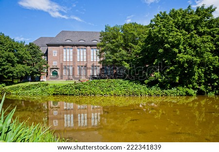 "The Hamburg Museum (also known as ""Museum for Hamburg History""), a history museum located near the Planten un Blomen park in the center of Hamburg, Germany - stock photo"
