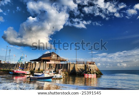 The Harbour at Broadstairs. - stock photo