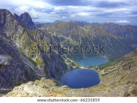 The high Tatras - stock photo