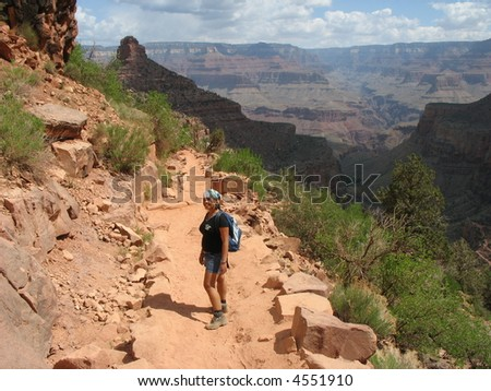 The Hike to the Colorado River, Grand Canyon, USA