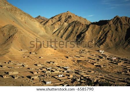 The Himalayas - stock photo