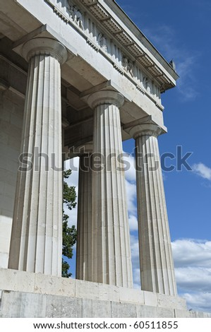 "The historic temple ""Ruhmeshalle"" of Munich in Bavaria"