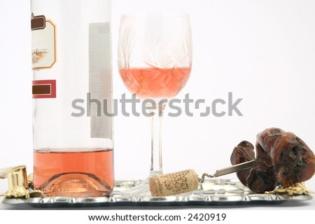 the holiday composition - stock photo