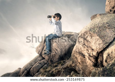 The horizon  - stock photo