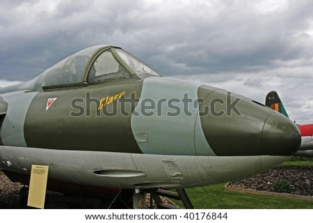 The Hunter was the front line fighter jet for the British RAF in the 1950s