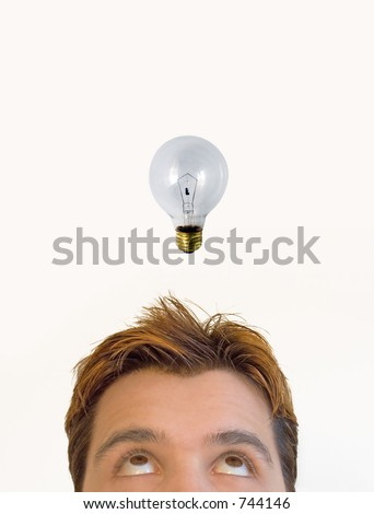 The idea! - stock photo