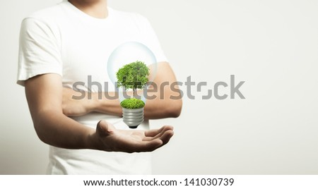 The Idea for good environment. - stock photo