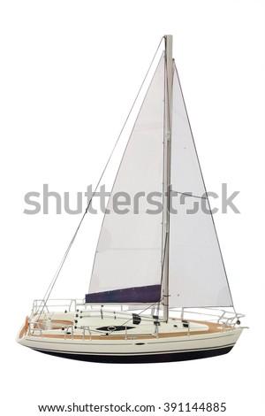 The image of a sailer - stock photo