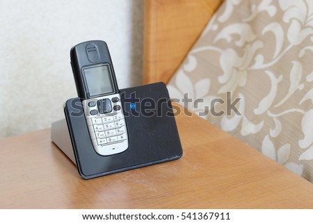 The image of a telephone