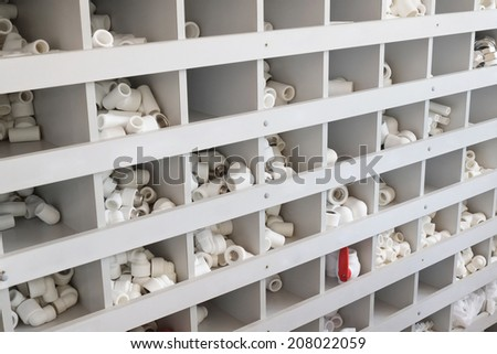 the image of a warehouse - stock photo