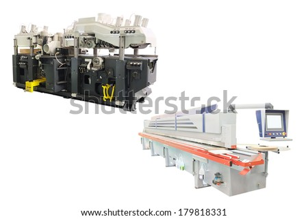 The image of a woodworking machines