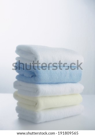 The image of bathroom towels