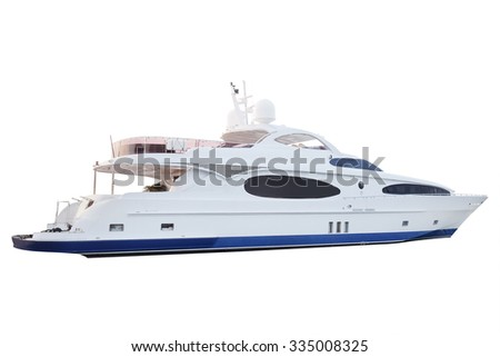 The image of boat - stock photo