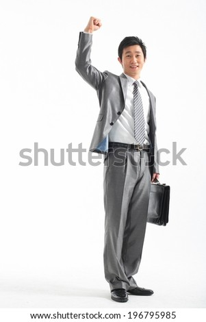 The image of businessman in Korea, Asia