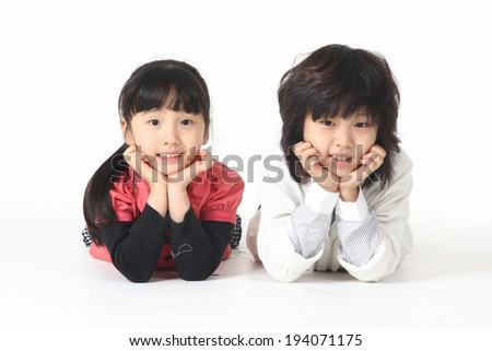 The image of child in Korea, Asia