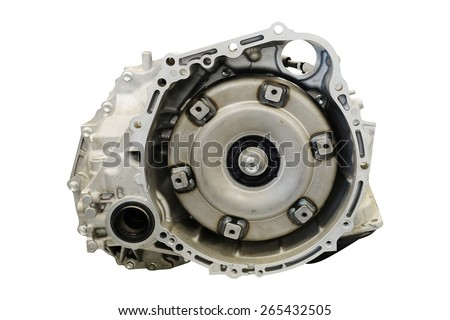 The image of gearbox parts  - stock photo