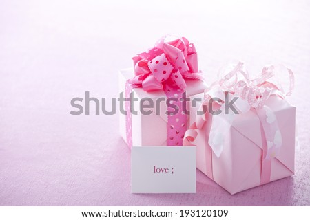the image of gift boxes