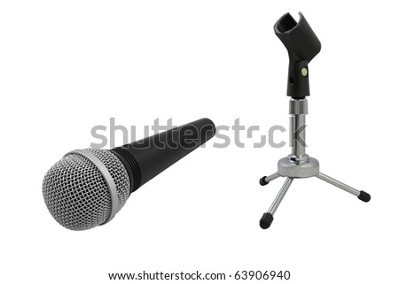 The image of microphone