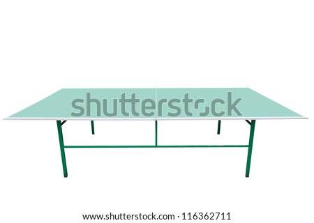 The image of ping-pong table - stock photo