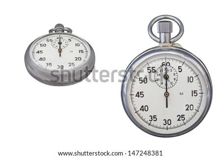 The image of stopwatches - stock photo