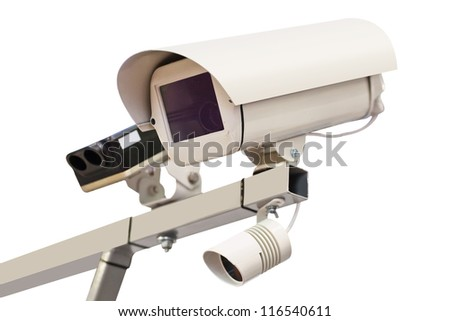 The image of surveillance camera