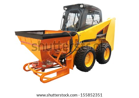 The image of tractor                      - stock photo