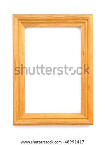 The image of wooden frame